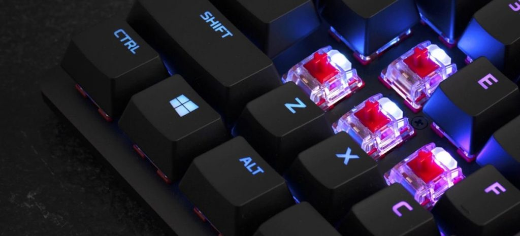 HyperX Alloy Origins Keyboard arrives in Brazil with blue mechanical switches