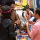 BBB 21: Joao Luiz is immunized by Fiuk and Gilberto - clone / Globoplay
