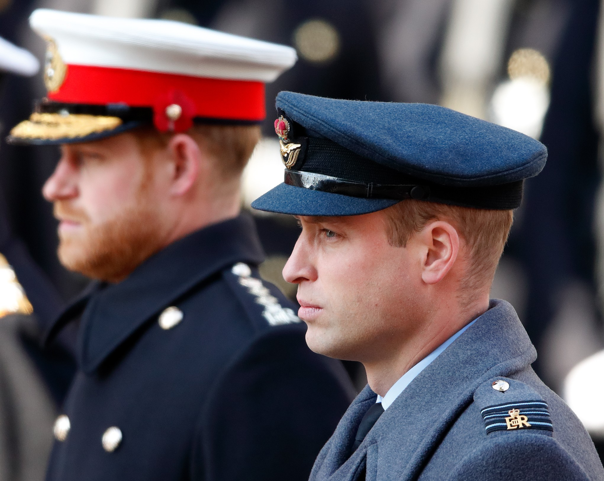 Prince Harry and Prince William at the British Royal Family Event in November 2019 (Photo: Getty Images)