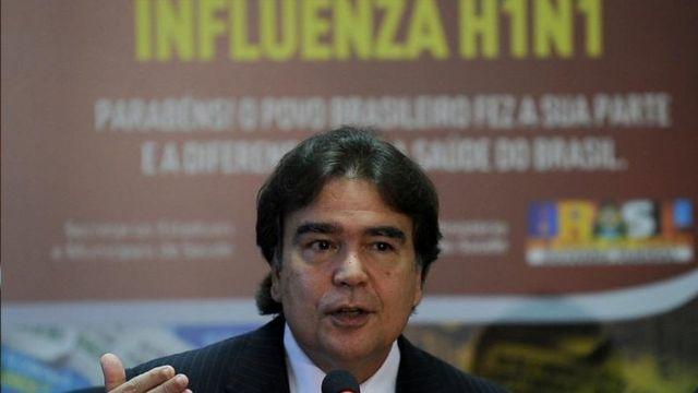 Jose Gómez Tempurao, former Minister of Health, in 2010