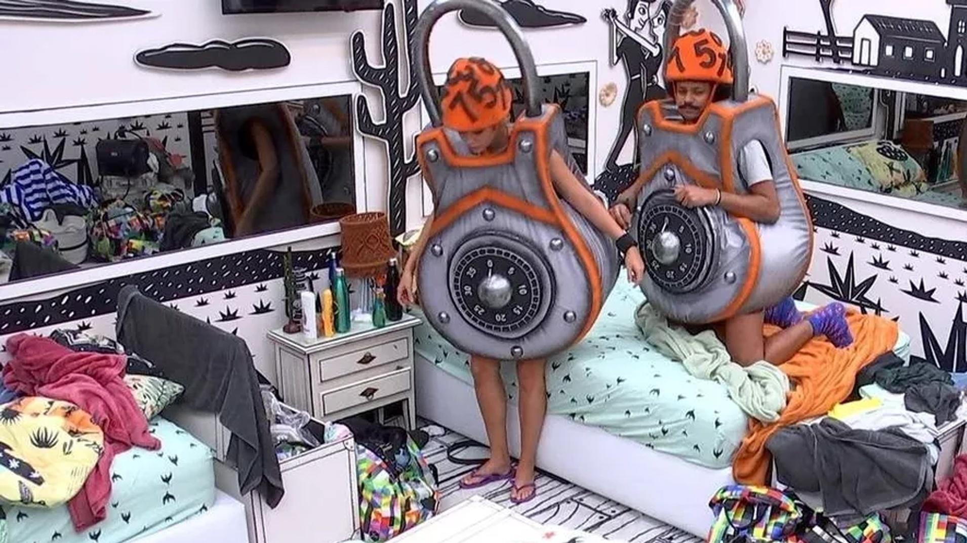 BBB 21: Sarah & Joao Fulfill Monster Punishment - Breed / Globoplay