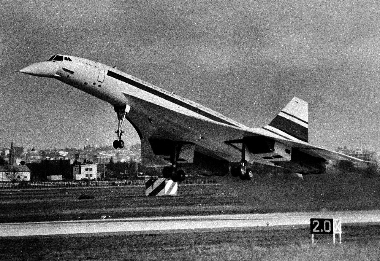 Avião Concorde