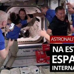 NASA astronauts arrive at the International Space Station aboard the SpaceX spacecraft    Science and health