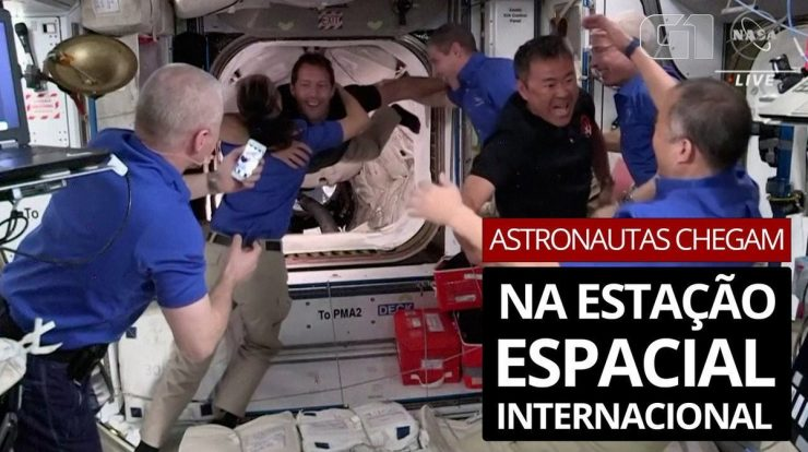 NASA astronauts arrive at the International Space Station aboard the SpaceX spacecraft |  Science and health