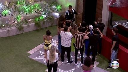 The lead is the first disqualification from the BBB20, with 75.54% of the vote