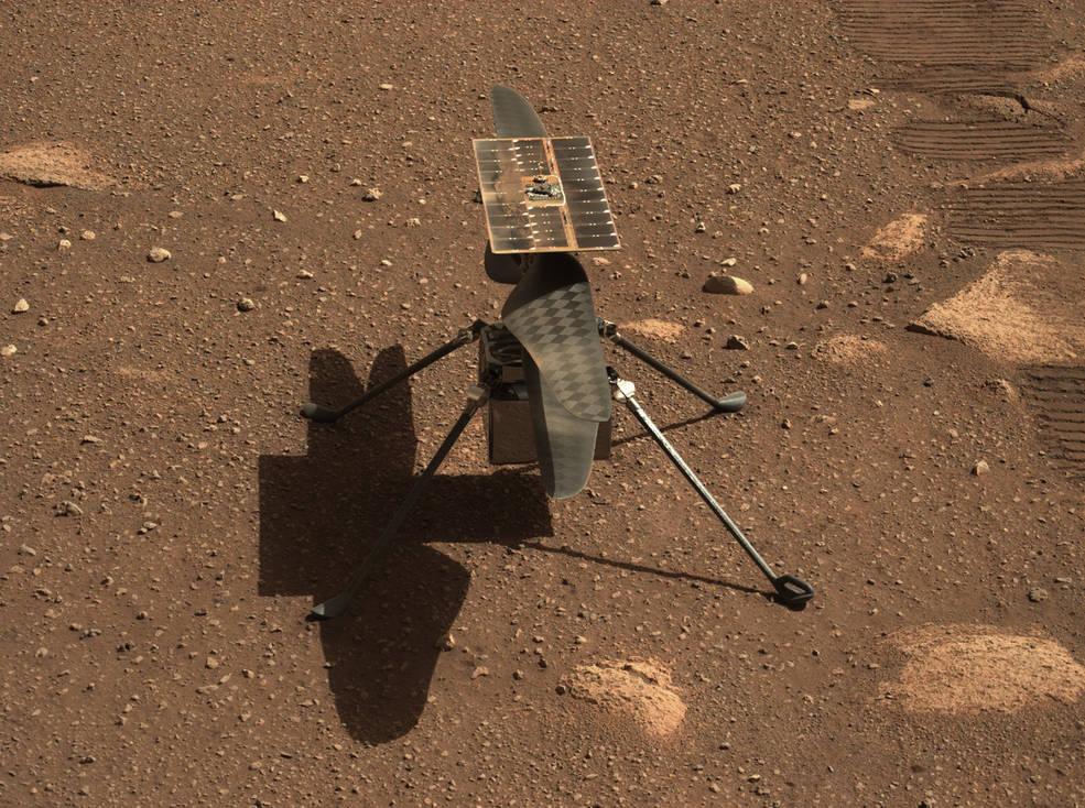 Helicóptero Ingenuity Mars