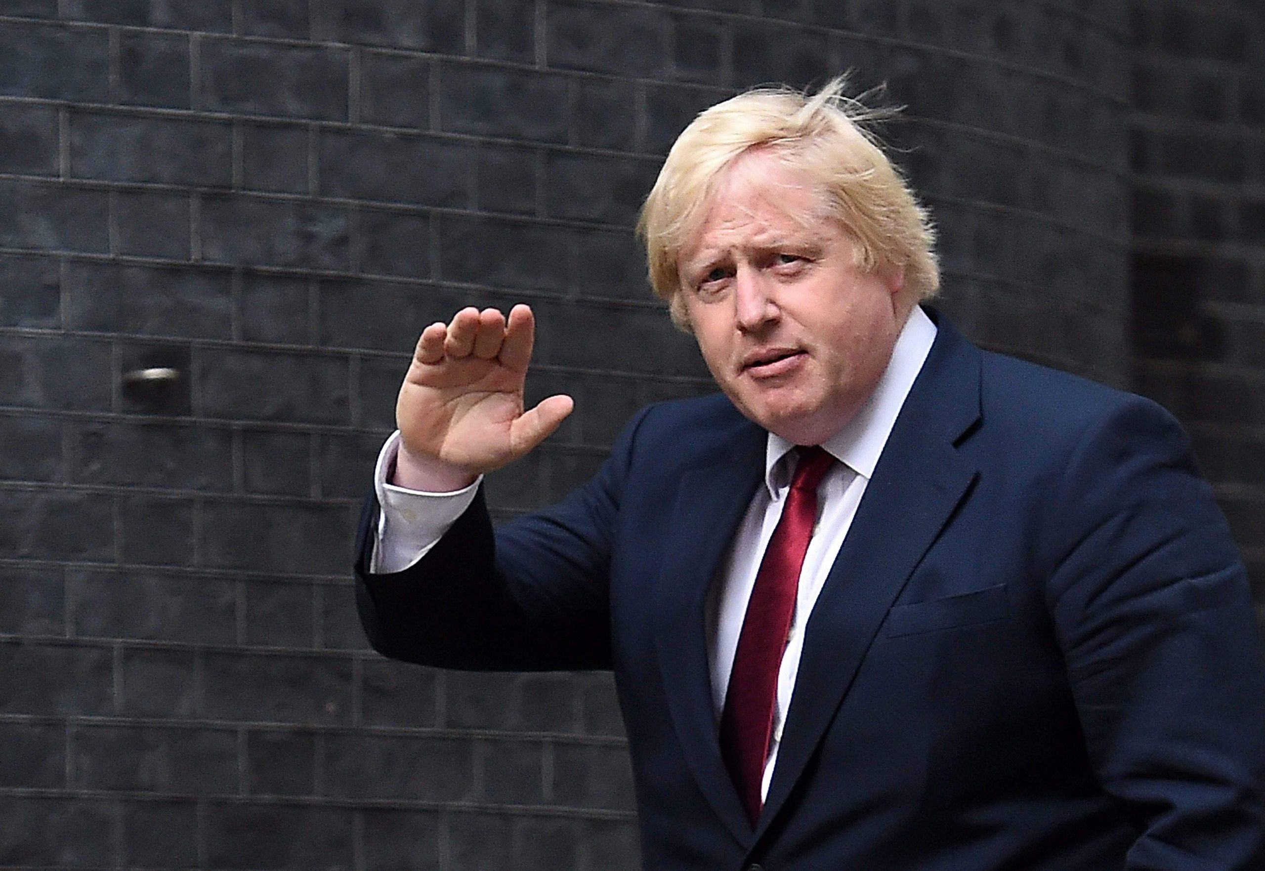The British are back in the bars and shops and have Boris Johnson cutting his hair
