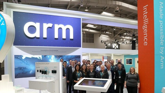 ARM booth (Photo: Facebook / ARM)
