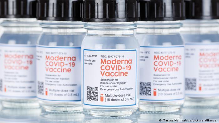 A recent vaccine ampoule