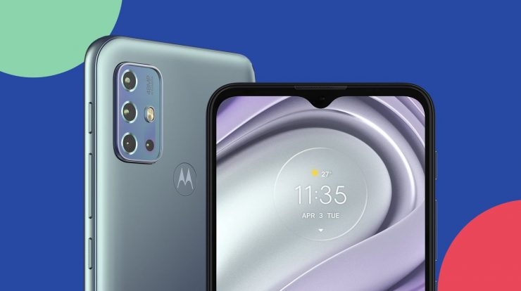 The Moto G20 arrives in Brazil with features inherited from the Moto G10 and G30