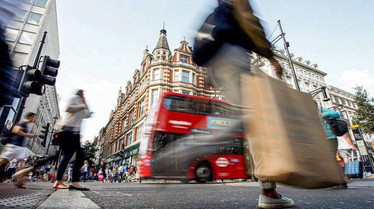 Oxford Street, em Londres