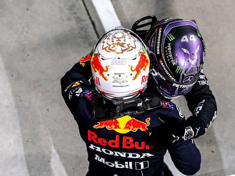Max Verstappen and Lewis Hamilton: Bahrain Grand Prix champions and possibly the entire F1 season