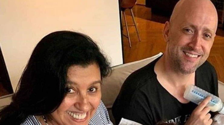 Paulo Gustavo and Regina Casey Photo: Instagram