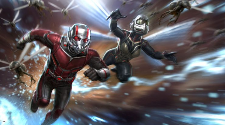 Ant Man 3 |  The director posts a photo on the same set from The Mandalorian