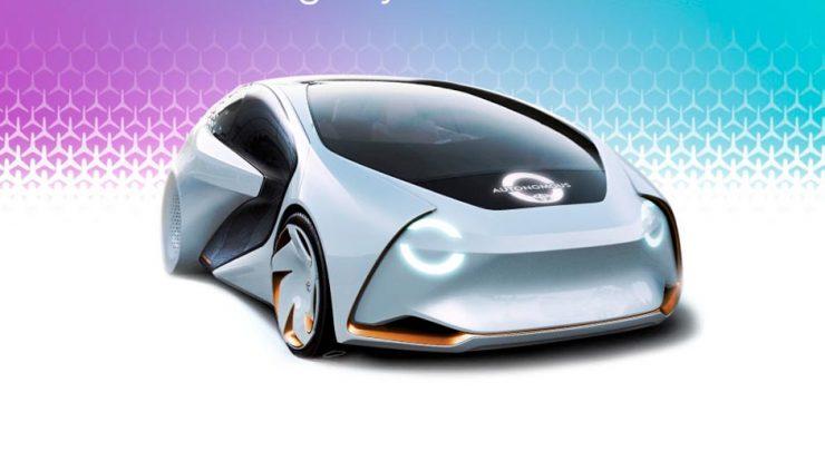 Carro autônomo Toyota i-Concept 2017: montadora pretende aplicar em breve novas tecnologias