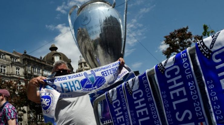 City and Chelsea take the stadium for the Champions League title