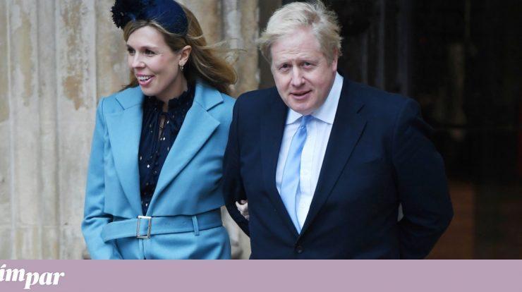Boris Johnson married Gary Symonds in a less important ceremony |  UK