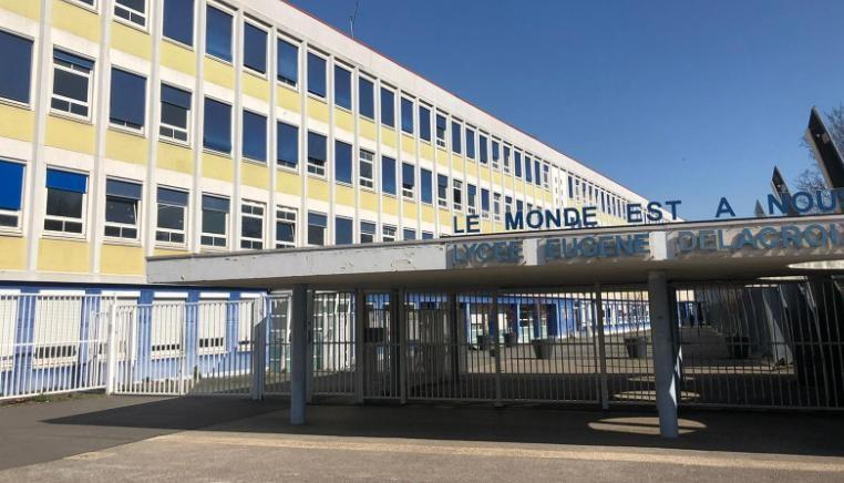 Eugene Delacroix School in Drancy, a suburb of Paris