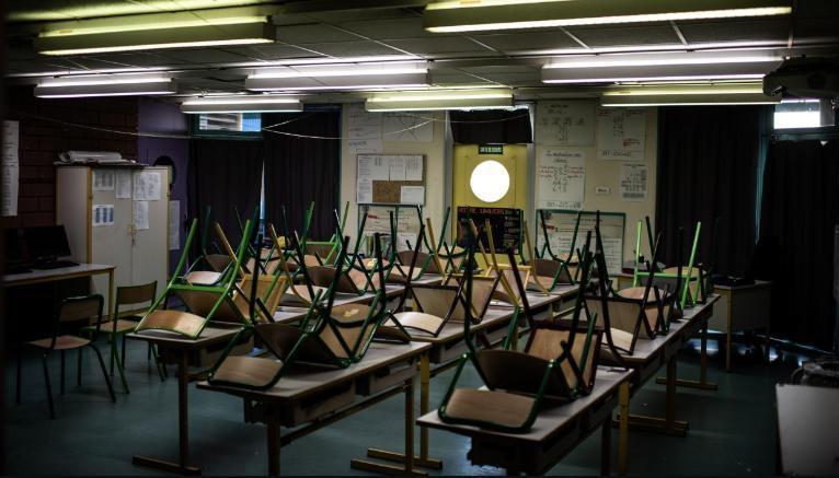 Closed semester in the suburb of La Courneuve