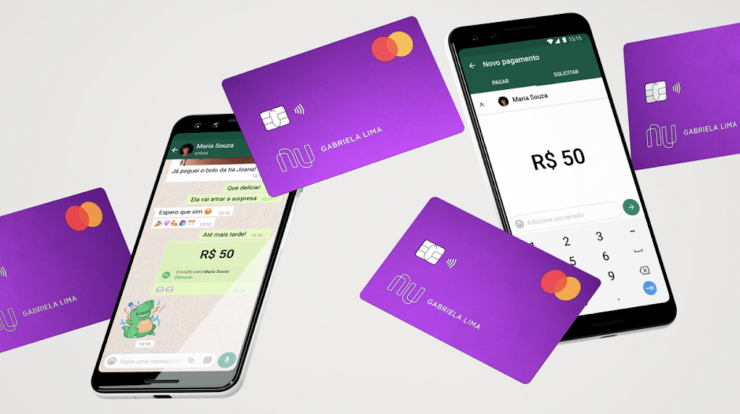 Learn how to pay with Nubank via WhatsApp with a debit card