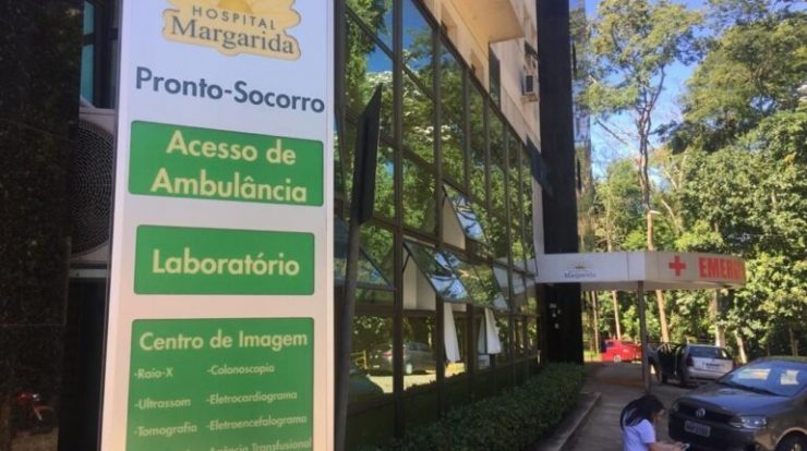 Margarida Hospital has seen an increase in the occupancy rate in its intensive care unit and a decrease in the infirmary