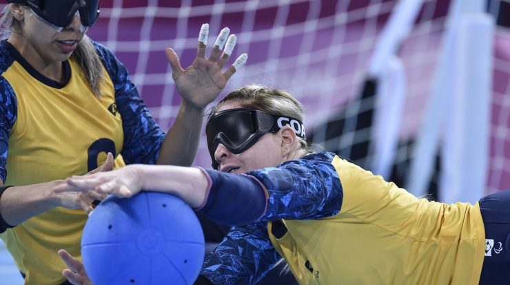 Paralympics: Brazilian goalkeeper faces the current champions in the first stage