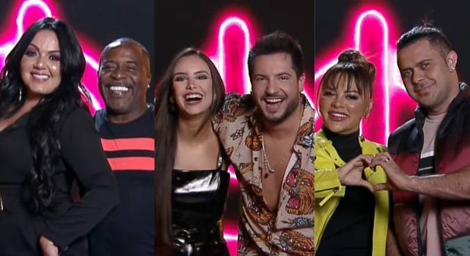 Pepe, Bimpolo, Georgia, Thiago, Marcia and Rod Pala make up the first pair of Brazilian powerhouses 5 - RecordTV