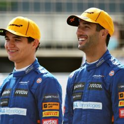 Ricardo and Norris drive the Hero Cena in Goodwood    Formula 1