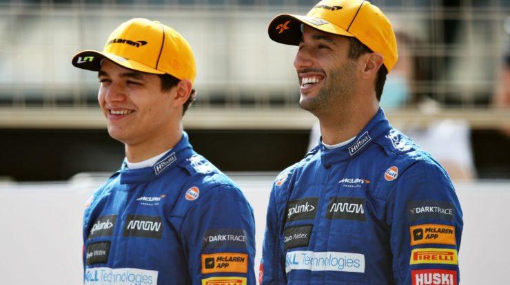 Ricardo and Norris drive the Hero Cena in Goodwood |  Formula 1