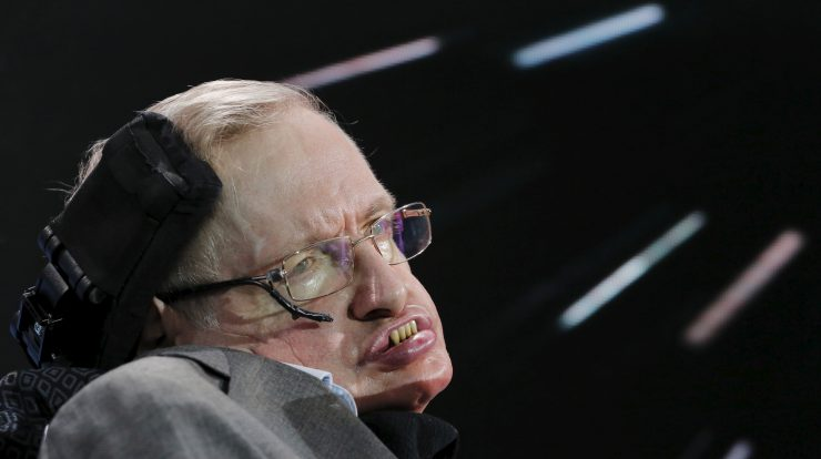 Físico Stephen Hawking