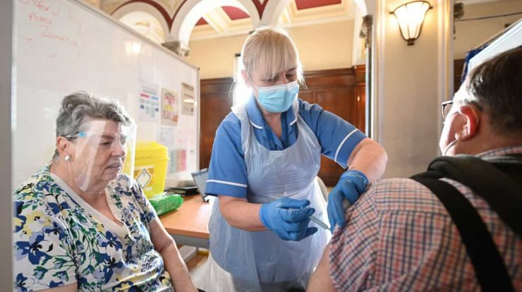 There are 2,047 cases and five deaths in the UK.  Already 17.2 million have been vaccinated