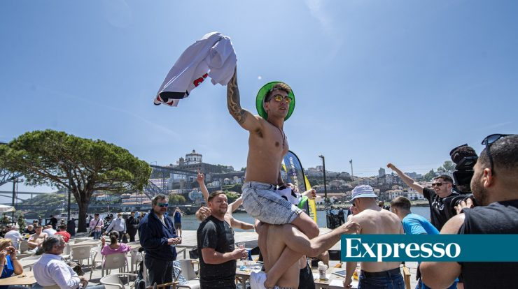 Tripuna Expresso: Great Games    42 flights are expected from England to Porto this Saturday
