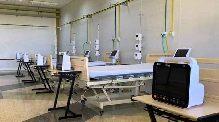 With Unimed support, Santa Bárbara opens seven more coronavirus clinical beds أسرة