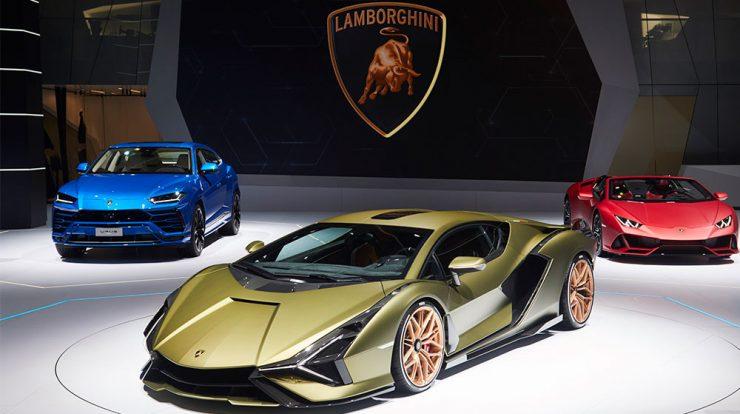 Lamborghini Sián no Salão de Frankfurt 2019