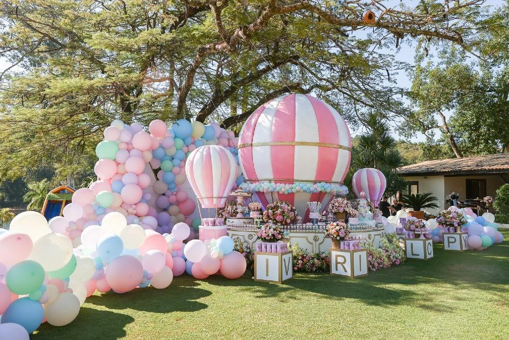 Birthday Decorations for Vicky, Sister of Raffaella Justos