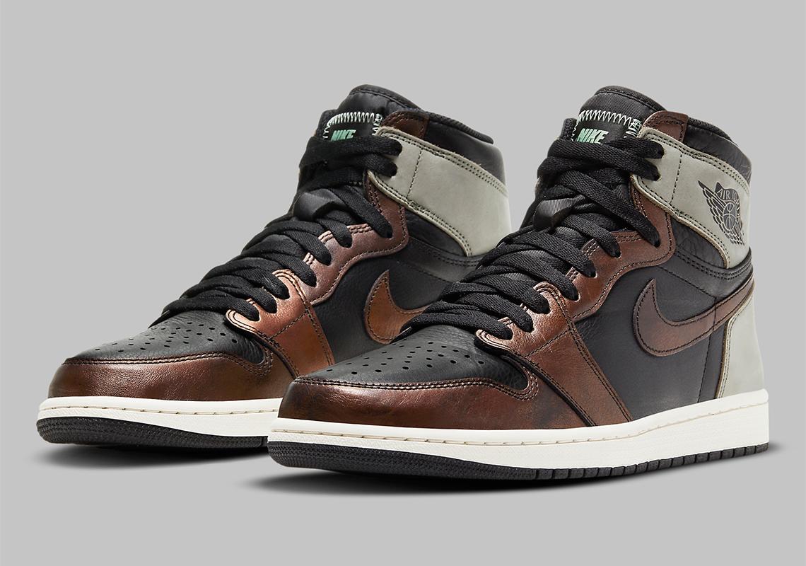 """Air Jordan 1 Retro High OG """"  Light Army """"  555088-033    SneakerNews.com"""