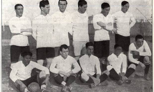 Uruguayan champion team in 1916. The country holds 15 titles (1916, 1917, 1920, 1923, 1924, 1926, 1935, 1942, 1956, 1959, 1967, 1983, 1987, 1995 and 2011) in competition Image: Reproduction