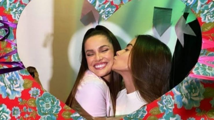 Anita returns to Brazil and recharges Juliette Freire at a meeting TV News