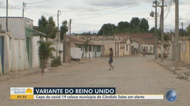 Covid-19: UK variant case confirmed in condo sale Bahia