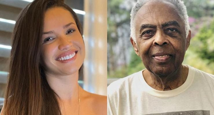 """From BBB to a music career!  Juliette Freire sings """"Esperando na Janela"""" with Gilberto Gil"""