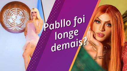 Pabllo Vittar at festivals, toy stores, at Pop Week and always goes away