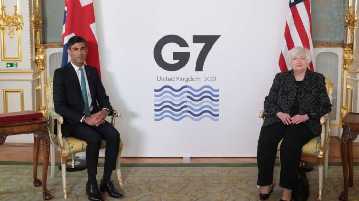 The G7 seeks an agreement that would revolutionize the global tax system