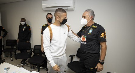 The players present themselves for the Brazilian national team qualifiers - sport