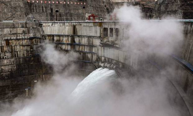 When fully operational, the Baihetan project is expected to save about 19.68 million tons of standard coal and reduce annual carbon dioxide emissions by 51.6 million tons, according to China Three Gorges Corporation (CTGC), which built the plant Image: STR/AFP