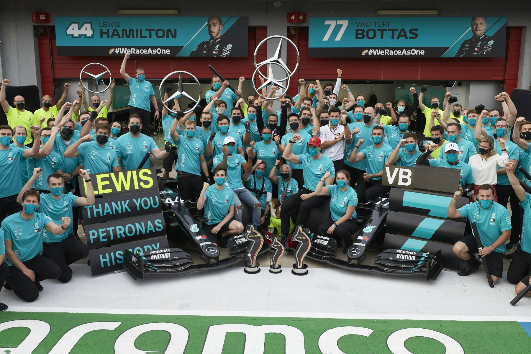 Formula 1 Mercedes team