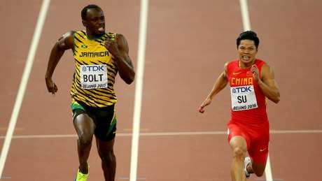 Chinese sprinter Bingtian Su believes that the 10-second barrier is basically a psychological challenge