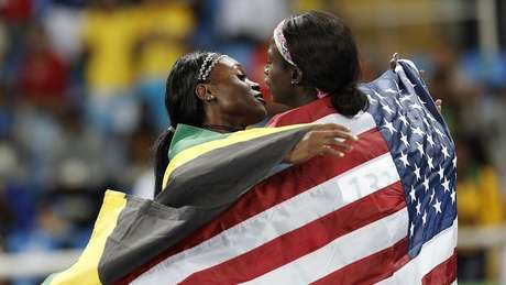 The 100m is still a double-monopoly between the US and Jamaica