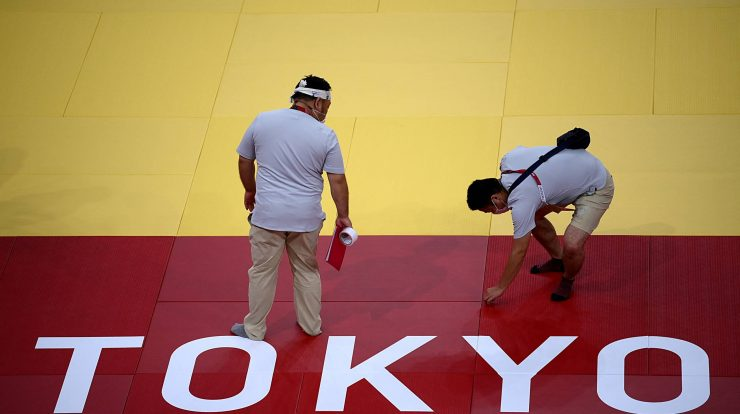 Algerian judo game suspended after refusing to face an Israeli in Tokyo