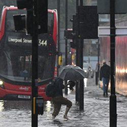 enchente Londres