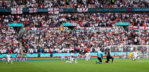 """Conflicting policies create a """"single fan"""" game for England at the European Championship - 07/06/2021"""
